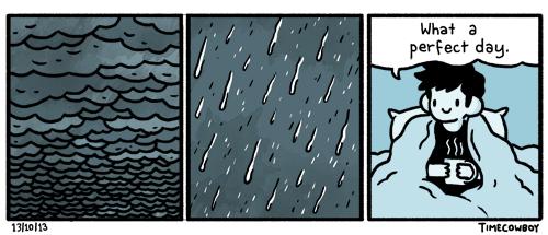 timecowboy rainyday